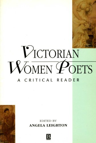 Victorian Women Poets: A Critical Reader (Blackwell Critical Readers in Literature ; 2)