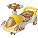 Playtool - Twist And Swing Magic Car With Musical Rhymes And Backrest ( 88 X 25 X 28 Cm)