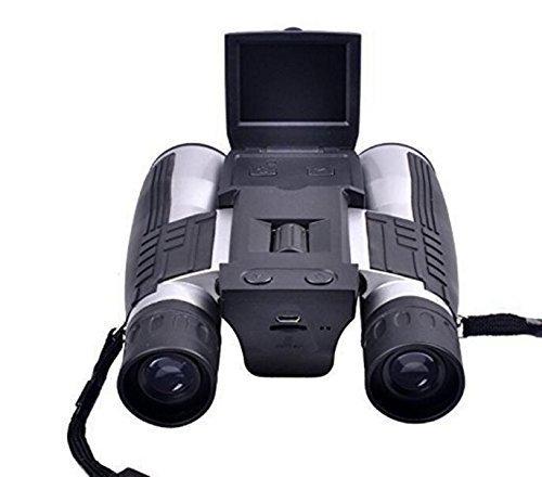 Appareil Photo numérique binoculaire/Jumelles numériques 12x32 avec écran ACL de 2 Pouces et Zoom Optique + numérique