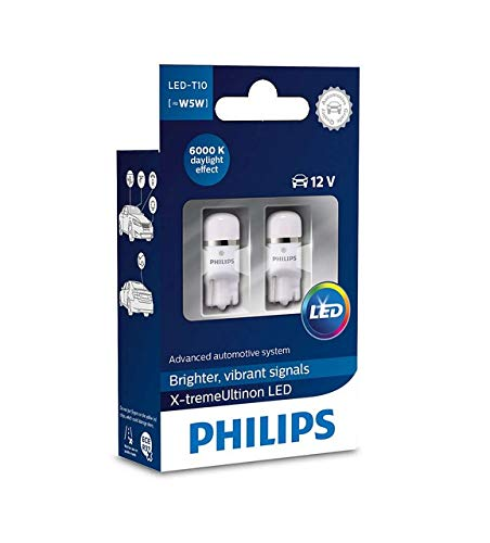 PHILIPS 127996000KX2 X-tremeVision 6000K Kaltweiss Innenbeleuchtung Doppelblister