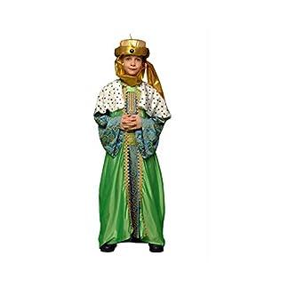 Disfraz de Rey Mago Verde para niños