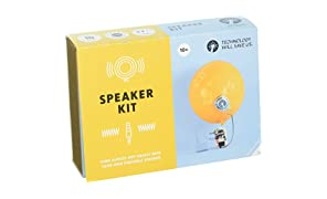 Tech Will Save Us, Speaker Kit | Educational STEM Toy, Ages 10 and Up