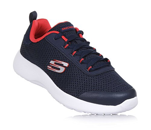Skechers Jungen Gymnastikschuhe, Blau - Blau - Größe: 39.5 EU (Skechers Jungen Größe 5 Schuhe)