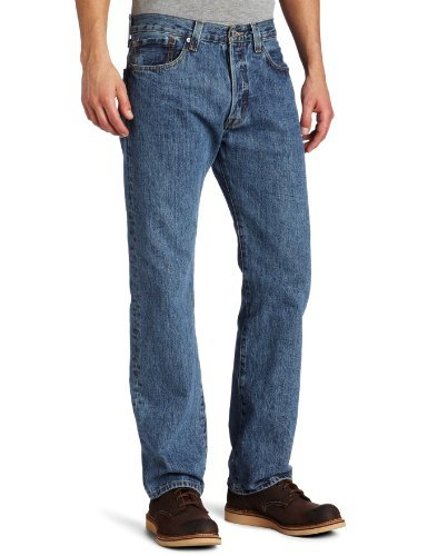 Levi's Herren Jeans 501 Original Fit Blau (On the Floor 1456)