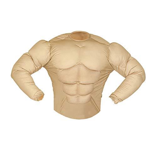 (Widmann 43063 Muskelshirt für Erwachsene, Herren, Beige, L)