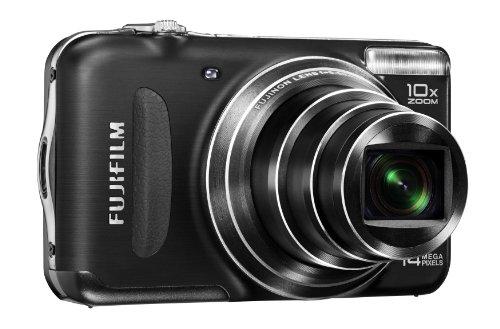 Fujifilm FinePix T210 Digitalkamera (14 Megapixel, 10-fach opt. Zoom, 6,9 cm (2,7 Zoll) Display, bildstabilisiert) schwarz (Fujifilm Profi-kamera)