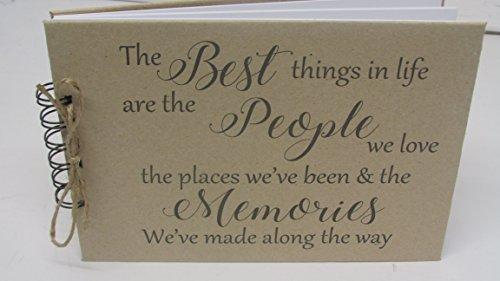 Things Scrapbook Memory Keepsake Present