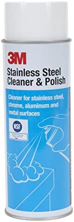 3M 14002 Stainless Steel Cleaner and Polish, 21 oz.