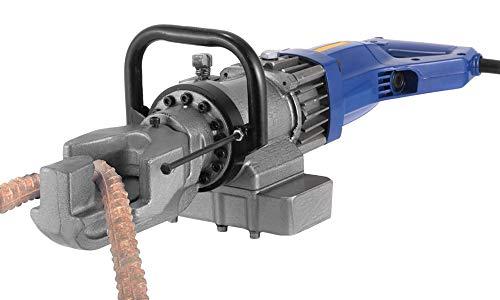 Huanyu Hydraulische Biegegerät 4-16mm Biegemaschine 0-130° Biegevorrichtung Elektrischer Formenbieger für Bewehrung, Stahlstange, Flachstahl, Rundstahl und Betonstahl