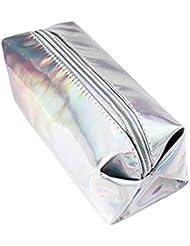 LQZ(TM) Trousse Scolaire Mignon Sac de Crayon avec Fermeture Éclair Boîte Stylo Sac Papeterie Sacs Cosmetic Bag pour Papeterie Cadeau