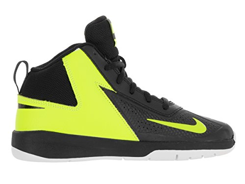 Nike Team Hustle D 7 (Ps), Chaussures de Sport-Basketball Garçon Black/Black Volt White