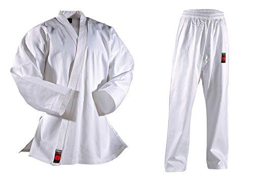 Karateanzug Shiro Plus, weiß von Danrho, 339031, Gr. 110-210