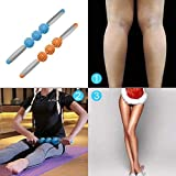 Shoppy Shop Yoga Muscle Massage Roller Stick Anti Cellulite Massager Trigger Point Stick