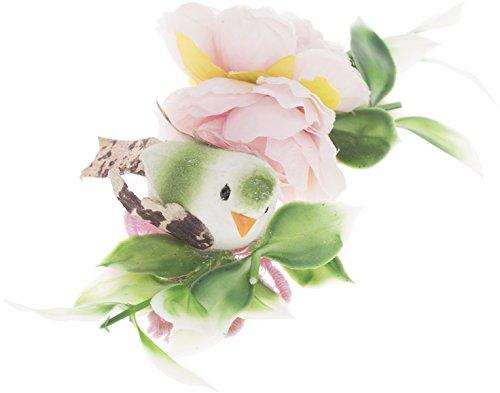 Cute REAGAN Roses BIRD Vogel Haarspange Rockabilly