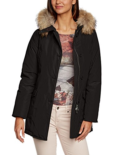 Canadian Classics Damen Daunenjacke Jacke LINDSAY, Gr. 36 (Herstellergröße: S (IT 42)), Schwarz (Black BLA)