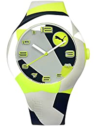 Puma Reloj Analógico para Hombre de Cuarzo con Correa en Silicona  PU103211033 f59b551ed35a