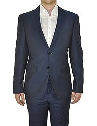Barutti - Tailored Fit - Herren Sakko aus reiner Super 120'S Schurwolle, Meliert, 900 8005 (Tarso AMF)