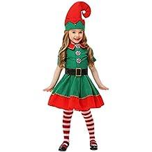 Amazones Disfraz Navidad Nina - Disfraces-de-nios-de-navidad