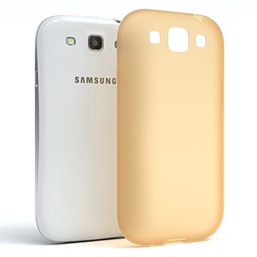 Samsung Galaxy S3 / S3 Neo Hülle - EAZY CASE Ultra Slim Cover TPU Handyhülle - dünne Schutzhülle aus Silikon in Pink Matt Gold