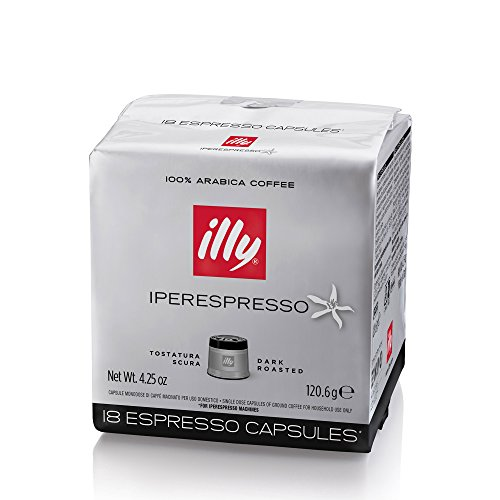 Find Illy 6 pack Cube BLACK coffee 108 capsules toast strong from Illy