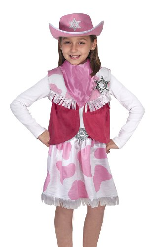 Cowgirl Role Play Set: Cowgirl Role Play Set (Halloween-kostüm Erwachsene Cowgirl)