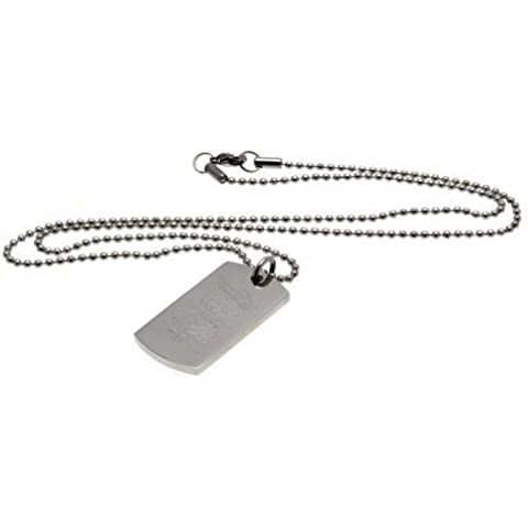 Birmingham City FC Dog Tag & Chain - Inciso Crest