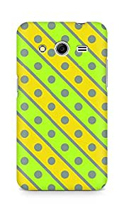 Amez designer printed 3d premium high quality back case cover for Samsung Galaxy Core 2 (Geometric Bright Pattern4)