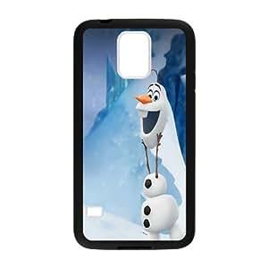 Coque Galaxy S5,Frozen Olaf Coque Samsung Galaxy S5-Silicone gel plastique transparent haute densité-Coque Housse Etui pour Samsung Galaxy S5