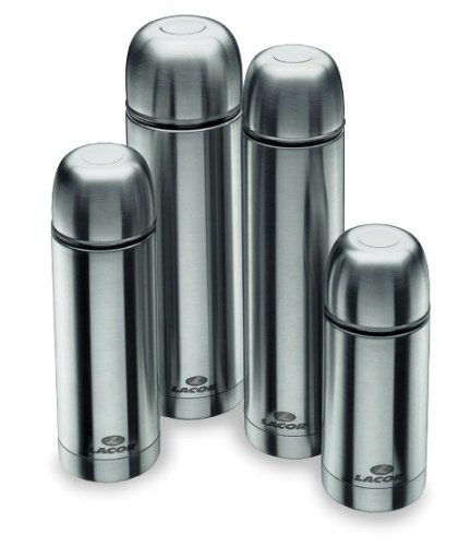 Lacor 62443 Bouteille Isotherme Cylindrique 0,75 L Inox 18 / 10