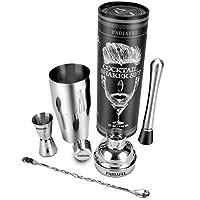 Comment utiliser le set de shaker à cocktail PADIAFEL pour en profiter au mieux :         Etape1-Préparez la recette de cocktail à partir du livret de recette inclus. Versez tous les ingrédients dans la timbale profonde du shaker à cocktail en ...
