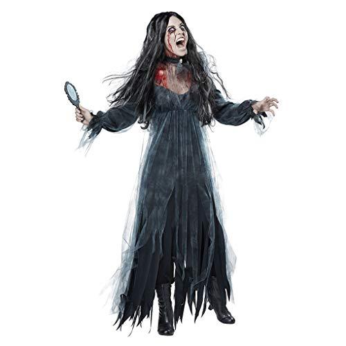 Yangge Yujum Frauen Cosplay Halloween Kostüm Horror Geist Leiche Zombie-Braut-Kleid