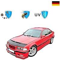 Tuning Steinschlagschutz Maske 1998-2001 Haubenbra Schwarz F/ür 3er E46 Sedan//Touring