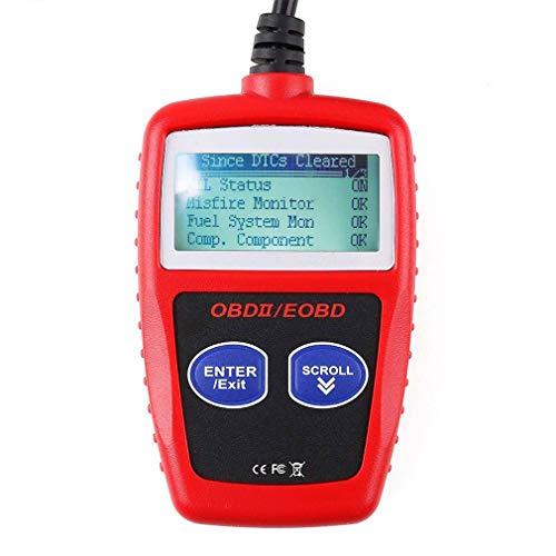 OBD2 Diagnosegerät Diagnose Fehler Auslesegerät Scanner OBD2 CAN Code Leser Auto, Universal KFZ-Fehlercode-Lesegerät für Europäische OBD II Protokolle nach (Universal-code-leser)