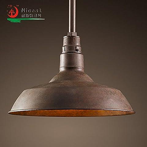 Stile industriale lampadario in metallo,45CM Brown