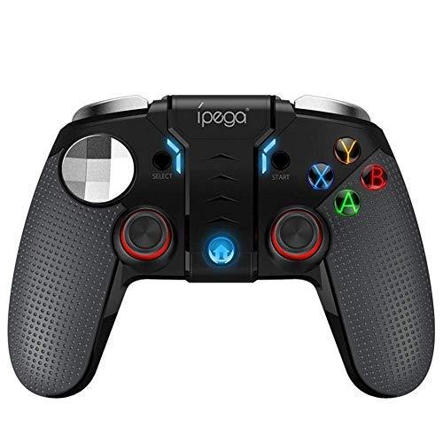 Estuyoya - iPega Gamepad Controller 9099 Wolverine Gaming Bluetooth für Windows, Android Phone mit Halterung bis zu 6,2 Zoll