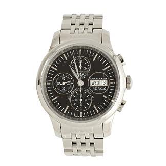 Tissot T41138751 – Reloj de cuarzo para hombre, con correa de acero inoxidable, color plateado