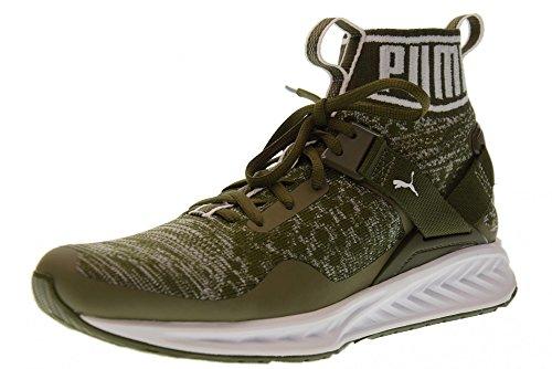 Puma sneakers ignite evoknit verde militare 189697-14 - 42.5, verde militare