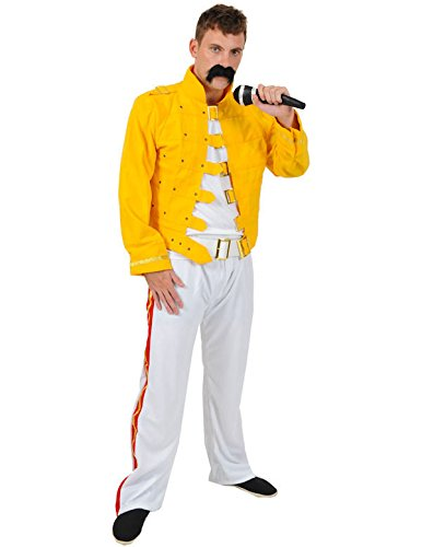 Freddie Mercury Kostüm (Pop/rock Kostüme Stars Dress Fancy)