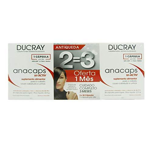 Ducray Anacaps Tri-activ Pack 3 X30 Caps