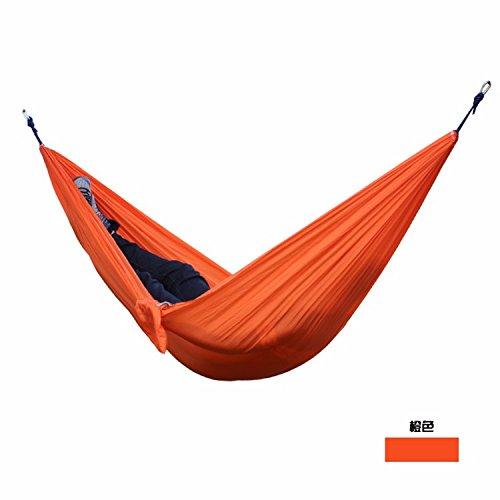 SOLEDITM hamaca portátil de paracaídas para 2 personas, para camping, supervivencia, jardín, caza, ocio, viajes, doble persona