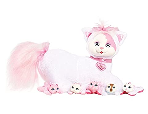 Just Play Surprise Hello Kitty neige et son chaton en peluche