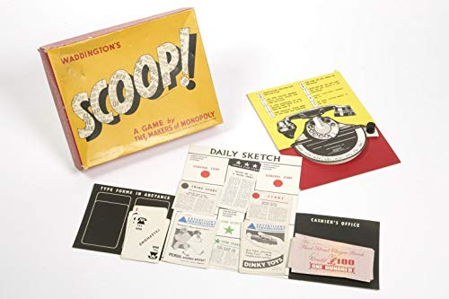 Scoop Board Game - Scoop-board