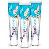 NappCure - Premium Ayurvedic Herbal Baby Rash Cream   Effective For Diaper Rash And Inflammation   Nourishes And Repairs Sensitive Baby Skin   Immediate Soothing Effect   German 30 Gm (Pack Of 3)
