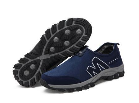 Wintermode Herrenschuhe Sportschuhe Freizeit Schuhe Marineblau