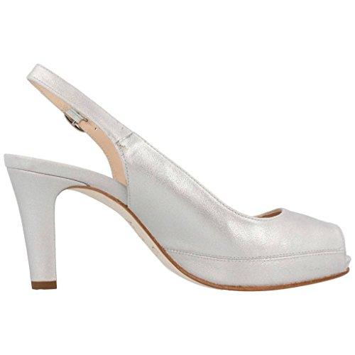 Scarpe tacco alto, color Argento , marca UNISA, modelo Scarpe Tacco Alto UNISA NICK Argento Argento