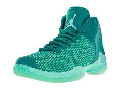 Nike jordan super.fly 4 po, scarpe da basket uomo, verde (rio teal/hyper turq-infrrd 23), 41 eu