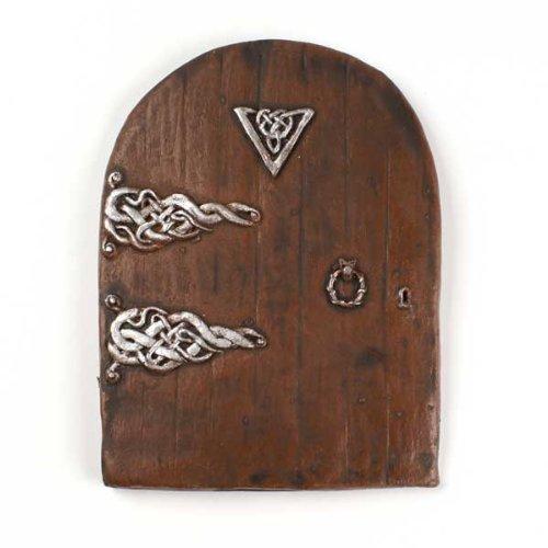 hgangs Fairy Tür groß-Miniatur Tür für Sockelleisten, Wänden und Bäumen ()