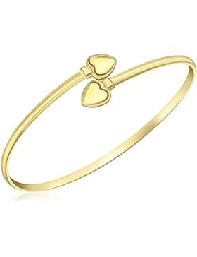 Carissima Gold 9 Karat (375) Gelbgold, Herz, Crossover