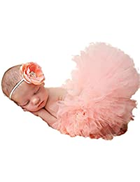 HENGSONG Costume de bébé Infant Bébé TuTu Robe et Bandeau