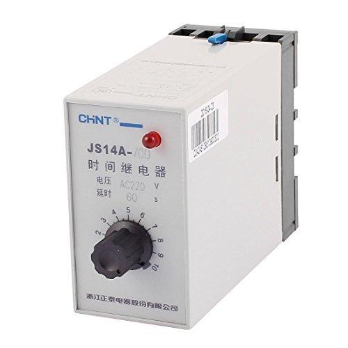 DealMux JS14A- / 00 AC 220 V 60 Sekunden Verzögerung Knob Adjustment Transistor Zeitrelais Autorisierte